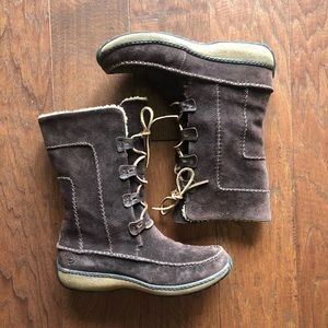 Timberland Fauna Lace Up Suede Boots